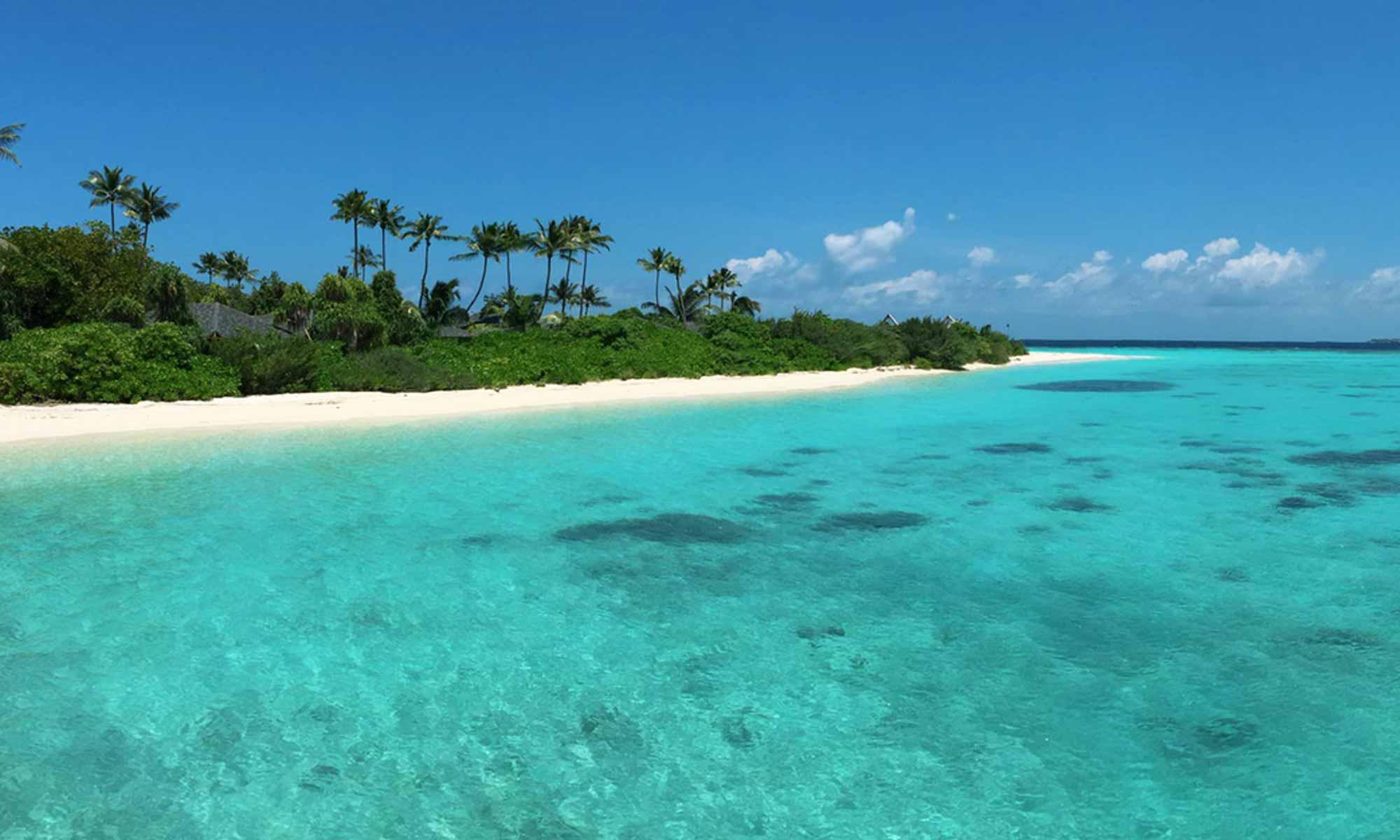 Slow Dive Indischer Ozean Malediven Euro Divers Amari Havodda Strand