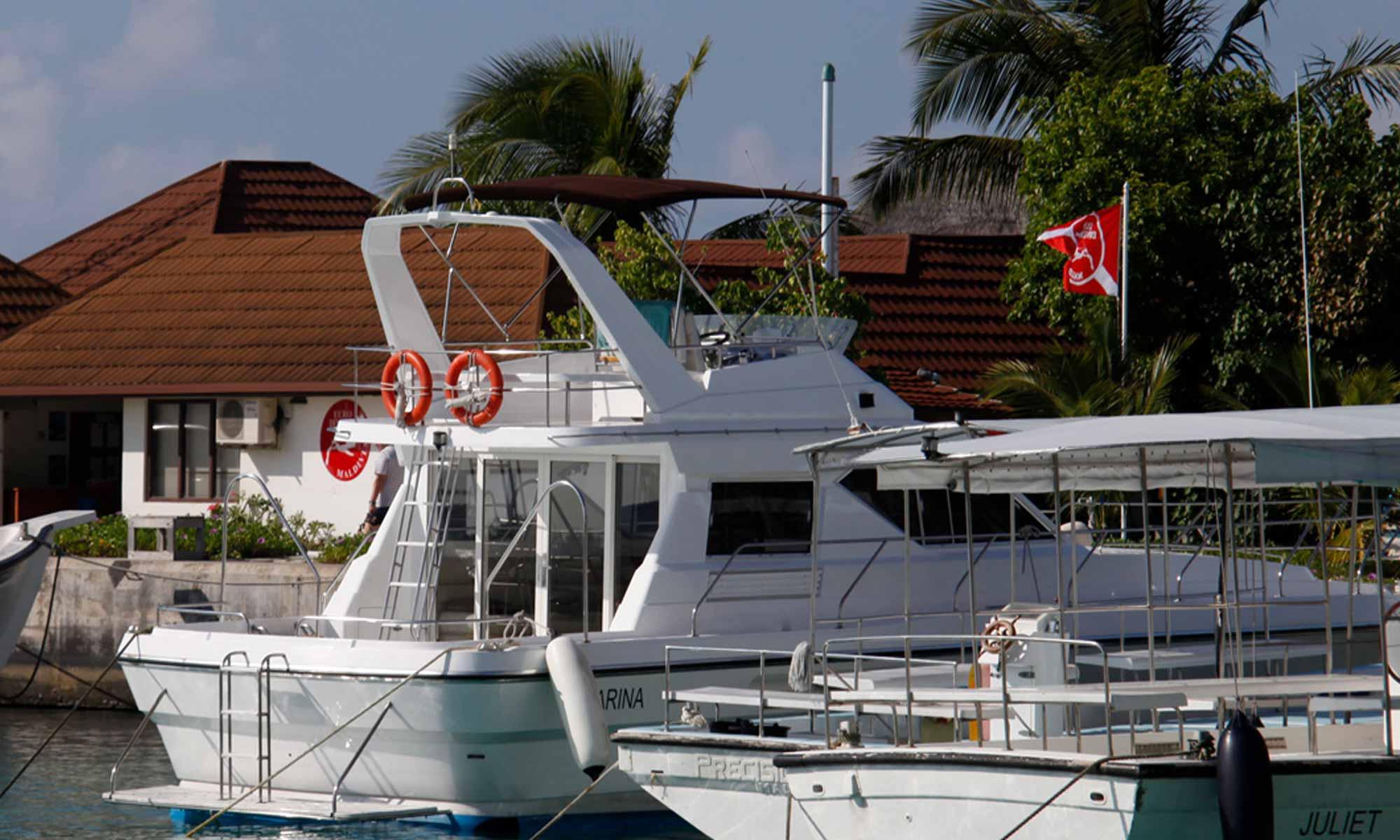 Slow Dive Indischer Ozean Malediven Euro Divers Kurumba Hafen