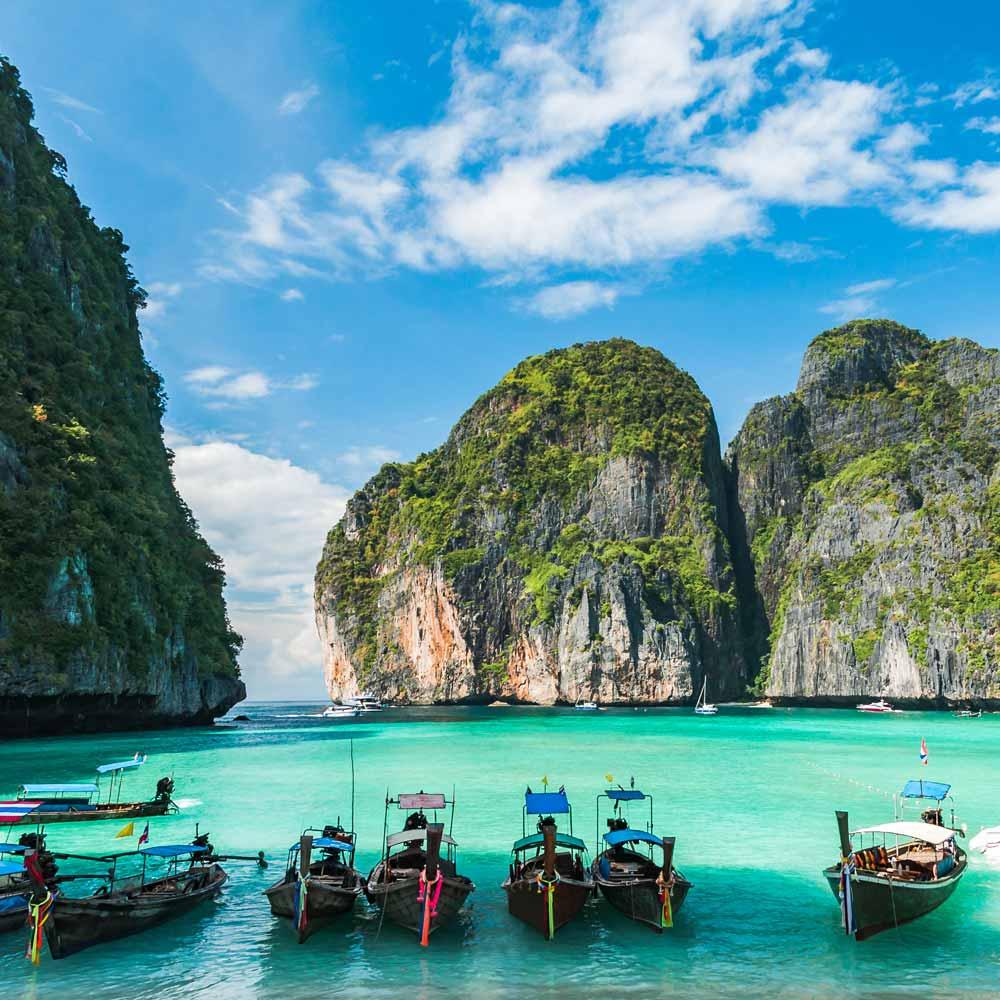 Slow Dive Indopazifik Thailand Boote