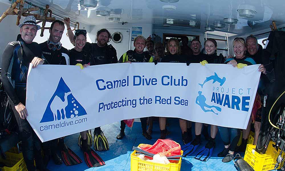 Slow Dive Tauchen lernen Camel Dive Crew