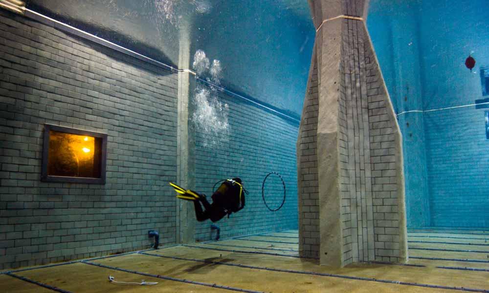 Slow Dive Tauchen lernen Divers Indoor Tauchkurs