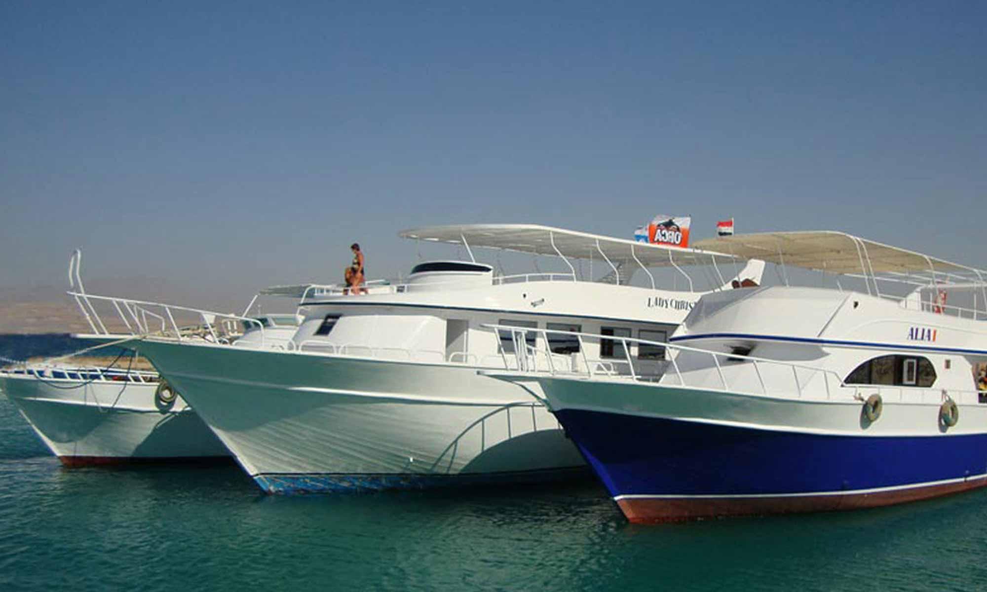 Slow Dive Rotes Meer Ägypten Orca Dive Club Soma Bay Boote 1