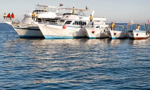 Slow Dive Rotes Meer Ägypten Extra Divers Makadi Bay Schiffe