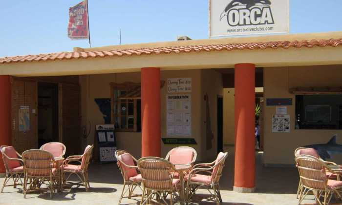 Slow Dive Rotes Meer Ägypten Orca Dive Club Wadi Lahmy Aussen
