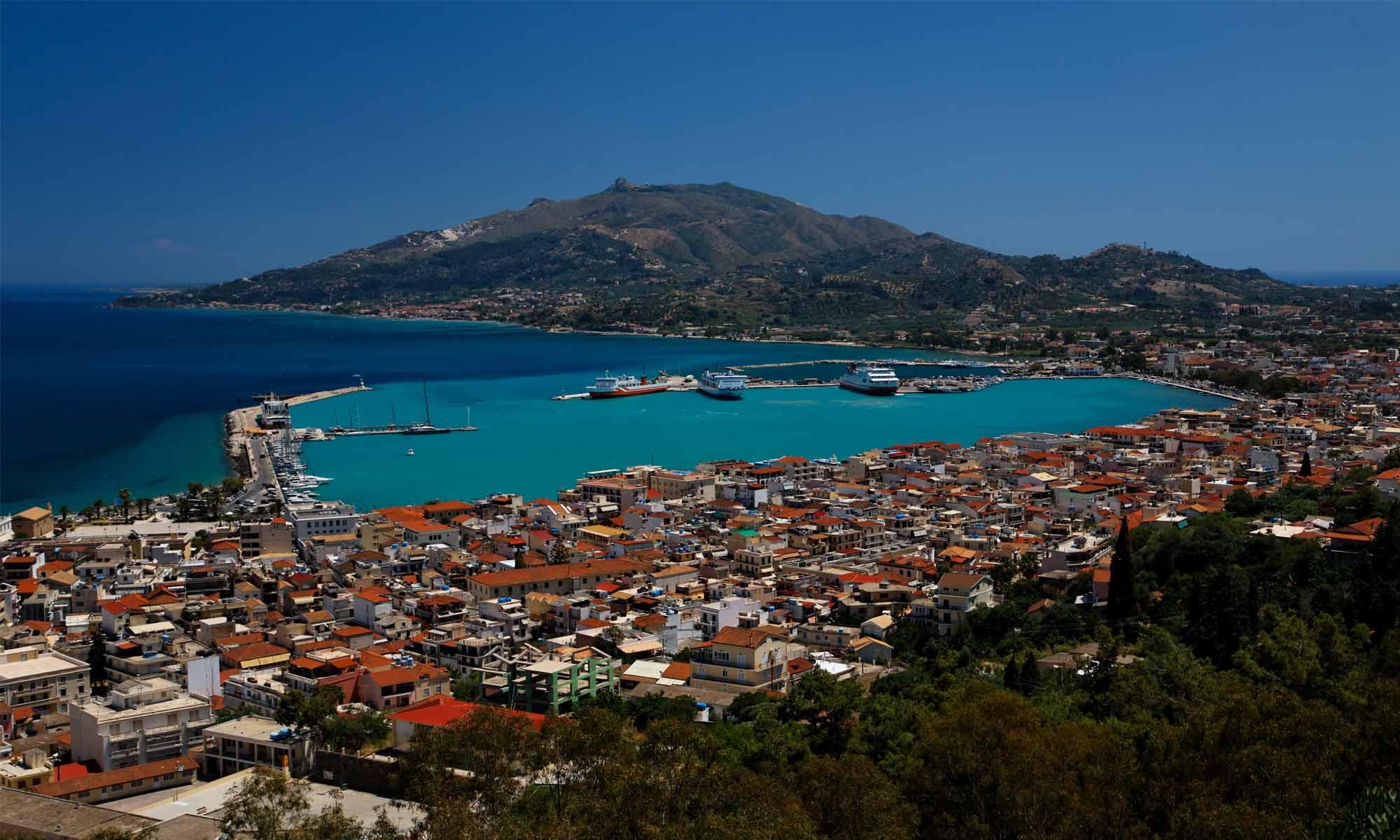 Slow Dive Angebote Griechenland Zakynthos Hafen