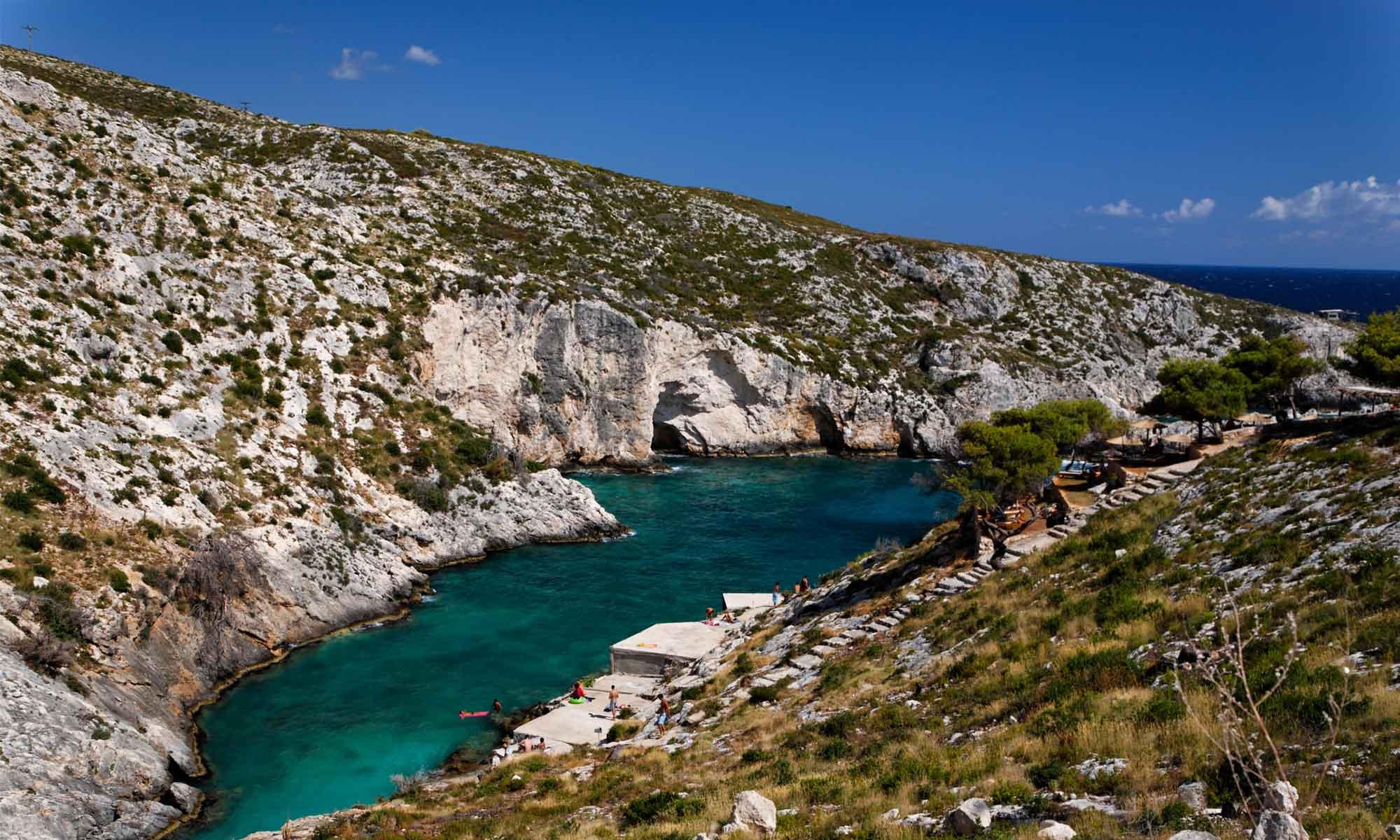Slow Dive Angebote Griechenland Zakynthos Klippen