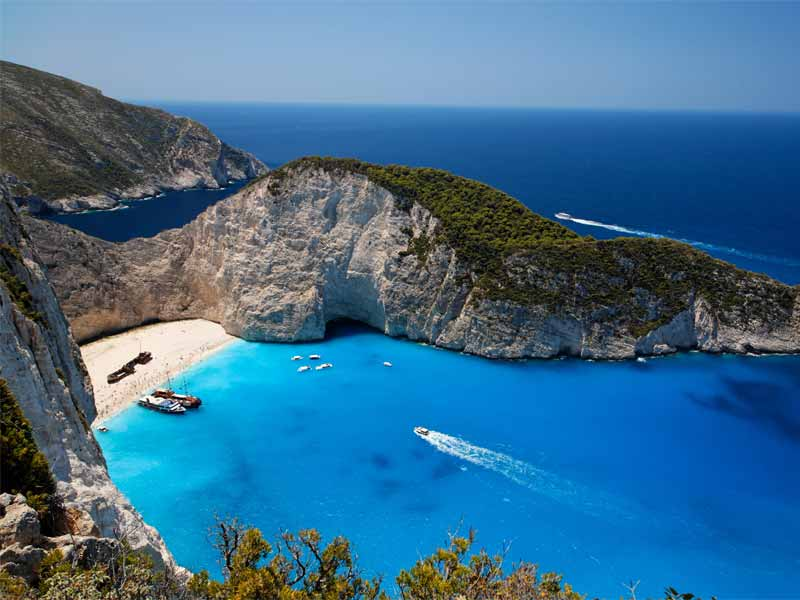 Slow Dive Angebote Griechenland Zakynthos Meer Bucht