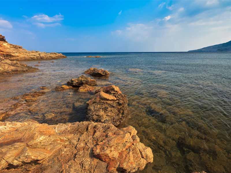 Slow Dive Angebote Italien Elba Felsen