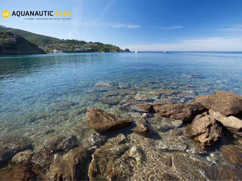 Slow Dive Angebote Italien Elba Boot Bucht