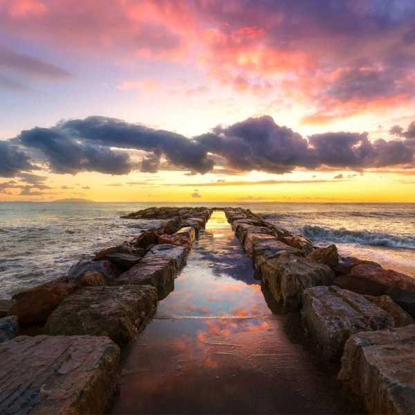 Slow Dive Angebote Italien Elba Sonnenuntergang